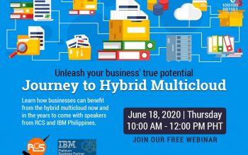 Journey to Hybrid Multicloud (free webinar)